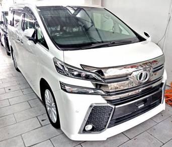 2015 Toyota VELLFIRE 2.5 ZA 5 YRS WARRANTY
