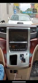 Toyota vellfire Alphard 08-12 oem car player