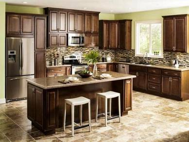 Kitchen/wardrobe/tv cabinet;hg terus dari kilang