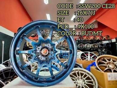 Rim 16 Inch CE28 Auto Option Magnesium Blue