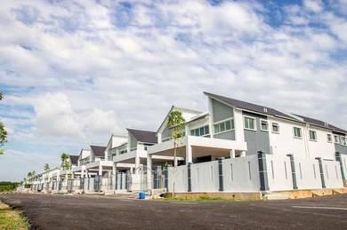 Rumah Teres Taman Nuri Durian Tunggal Melaka