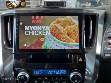 Toyota alphard vellfire 2000 - 2020 android player