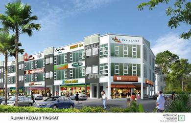 Three Storey Shop Office, Changloon