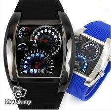 Real Waterproof Watches For Men Sport Swim led