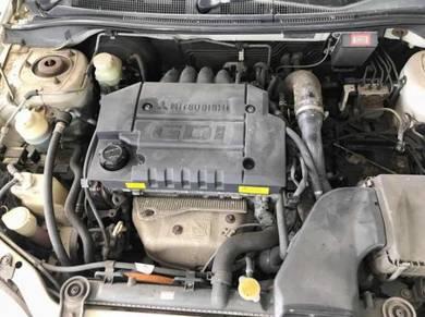Halfcut Mitsubishi gdi 4g93 turbo auto waja gen 2