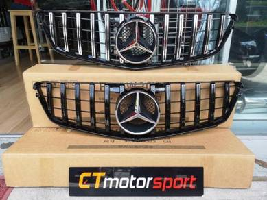 Mercedes Benz W204 Grill Front Bumper Grille GT