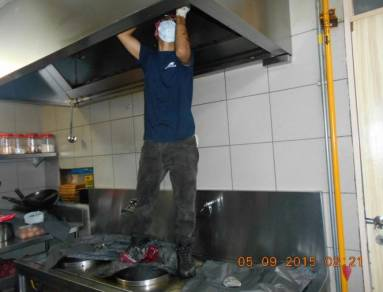 Duct Cleaning service Kitchen exhaust Hood system