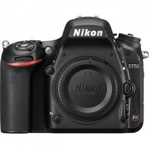 Brand New nikon d750 body (cash back rm1100)
