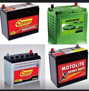 Car battery-bateri kereta delivery selangor
