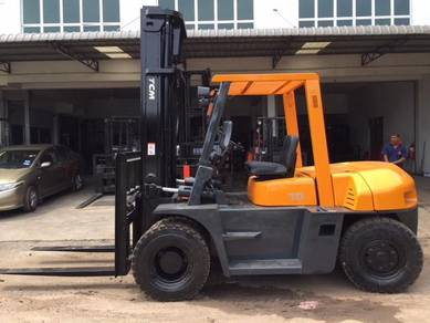 Japan Direct Import TCM Forklift Diesel 7 Ton