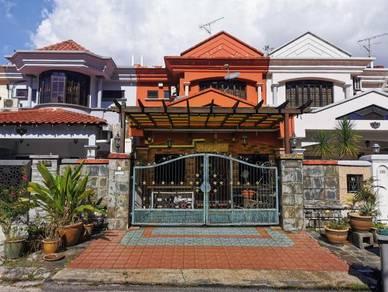 Full Loan Double Storey Taman Pelangi Indah Ulu Tiram