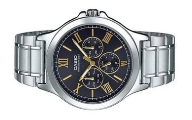 CASIO Men Multi Hands Analog Watch MTP-V300D-1A2UD