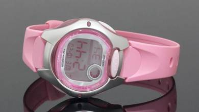 CASIO Lady 10 Years Battery Rubber Watch LW-200-4B
