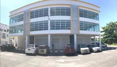 New 3-Storey Shop at Green Road Kuching