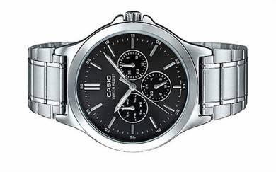 CASIO Men Multi Hands Steel Watch MTP-V300D-1AUDF