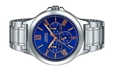 CASIO Men Multi Hands Analog Watch MTP-V300D-2AUDF