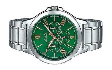 CASIO Men Multi Hands Analog Watch MTP-V300D-3AUDF