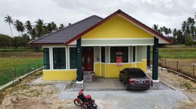 Rumah Banglo Cantik Berhampiran Pantai Kemayang Bachok