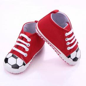 Style Charming Baby Prewalker- Soccer Red