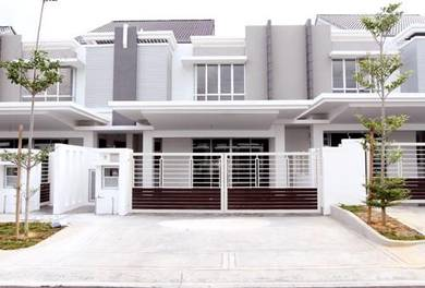 (BELOW MARKET) New Double Storey Superlink 24x80 , Mahkota Cheras