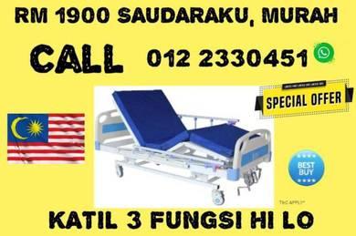 3 Fungsi Katil Pesakit Katil Hospital Bed Segera