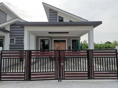 Rumah berkembar setingkat 1/2 kg wakaf dua, bukit payung, marang