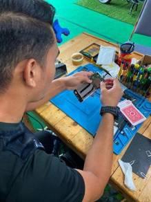 Repair motherboard iphone di tunjung dan kok lanas