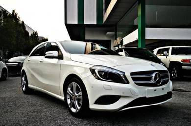 BEST 2014 Mercedes Benz A180 SE with 4yrs Wrrnty