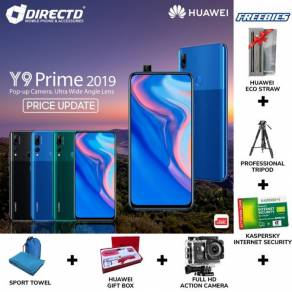 HUAWEI Y9 Prime 2019 (4GB RAM/KAMERA DPN BERMOTOR)