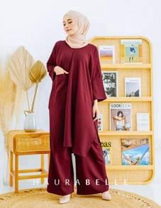 Prk - Mulan Basic Set Baju Muslimah