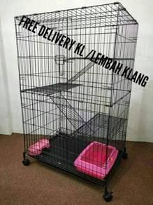 Sangkar kucing 3 tingkat (cat cage)