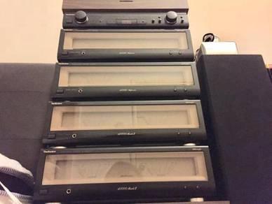 Technics Pre & Power Bi or Quad Amplifier Set Up