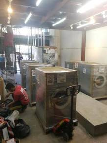 Kontraktor Dobi Layan Diri - Coin Laundry Setup