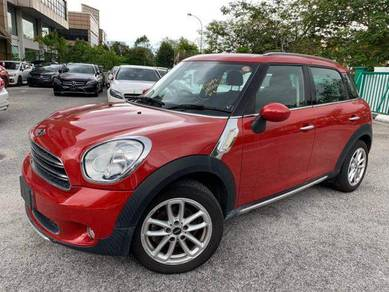 2015 Mini COOPER 1.6 Crossover Manual 5Yrs Wrty