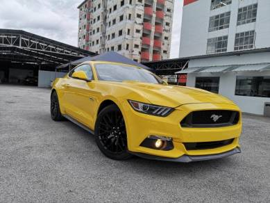 2017 Ford MUSTANG 5.0 GT Like New Car UNREG