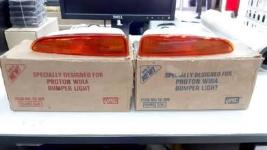 Proton Wira Bumper Light Lampu Celak Celah Oren