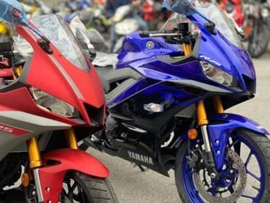 Yamaha r25 PROMOTION MERDEKA HEBAT EASY APPROVAD