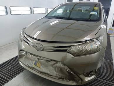 Ketuk kereta cat bodypart kereta accident claim