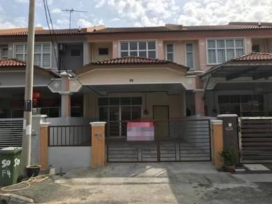 Below market value Double Storey Terrace house in Taman in Kuala kedah