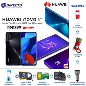 HUAWEI nova 5T (8GB RAM)MYset + 7 HADIAH MENARIK