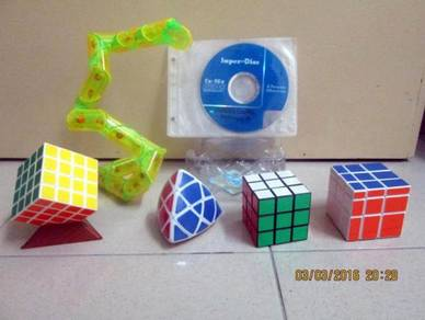 Rubiks 1 Malaysia Package with DVD Formula