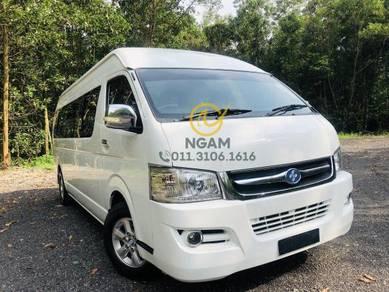 New Toyota Hiace Joylong CAM Placer X Window Van