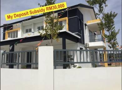[cheapest] rawang new 2 storey house selayang, batu caves