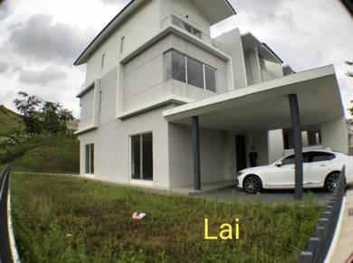 [Corner Lot] 3 Sty Taman Sari Camelia, Country Home, Rawang For Rent