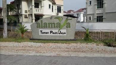2sty semi-D Alamaya Taman Pauh Jaya full reno partial furnished