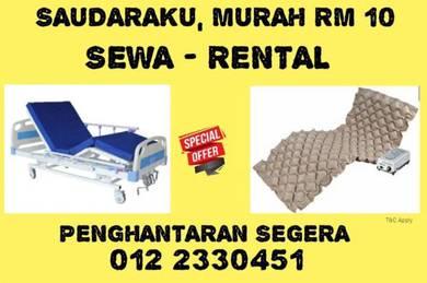 RM10 Rent Sewa Katil Hospital Bed Katil Pesakit