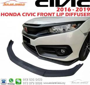 Honda Civic FC Front Lid Diffuser Lip Bodykit