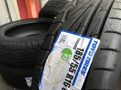 Tayar Baru 185 55 16 Toyo Proxes TR1 new tyre 2021