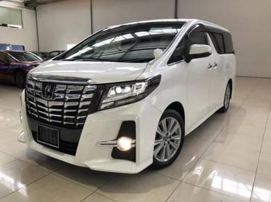 2015 Toyota ALPHARD 2.5 (A) SA SPEC(MERDEKA SALES)