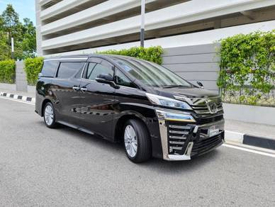 2018 Toyota VELLFIRE 2.5 ZA (A)